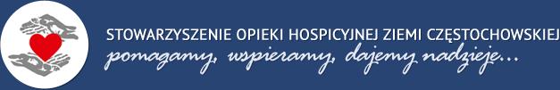 Hospicjum - Stowarzyszenie Opieki Hospicyjnej Ziemi Częstochowskiej